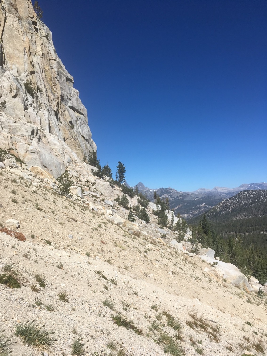 Approaching Mammoth Crest